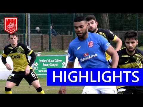 Stranraer Dumbarton Goals And Highlights