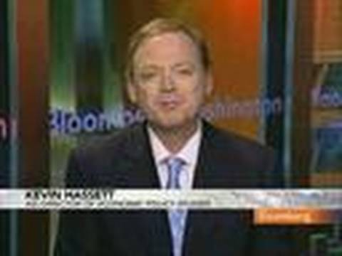 Kevin Hassett Discusses U.S. Home-Buyer Tax Credit: Video