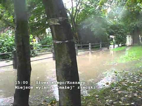 Powódź W Gdańsku Wrzeszczu - 2010