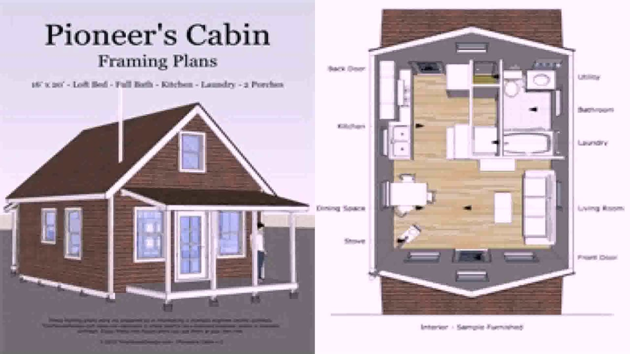12x20 Tiny House Floor Plans See Description See