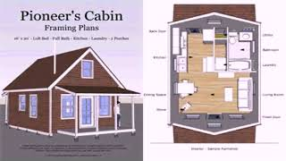 12x20 Tiny House Floor Plans  See Description   See Description