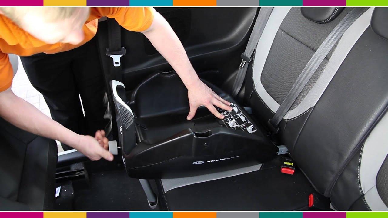 jane strata base car seat fitting video kiddicare youtube. Black Bedroom Furniture Sets. Home Design Ideas