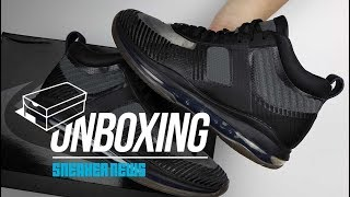 "Nike LeBron Icon ""Black"" Unboxing + Review"