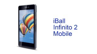 iball infinito 2 mobile specification india