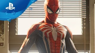 Marvel's Spider-Man – Peter Parker Trailer [PS4] Paris Games Week 2017