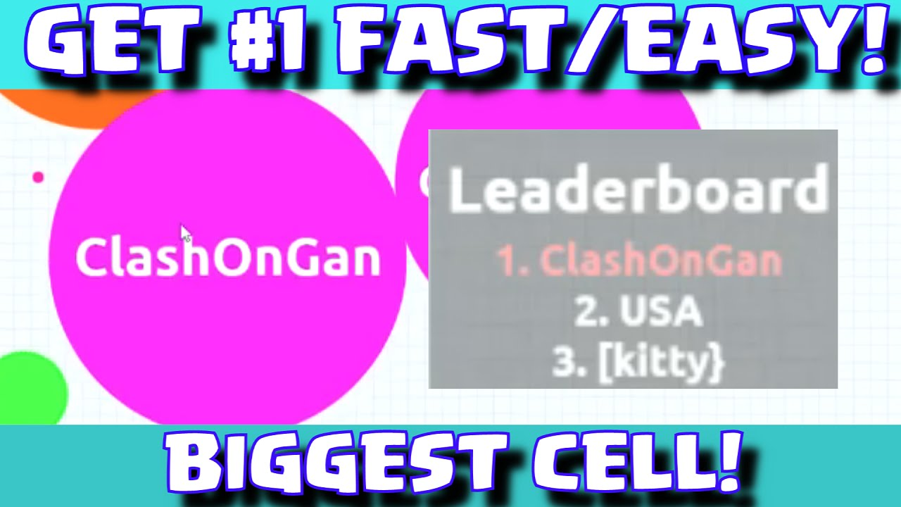 how to get mass fast in agario