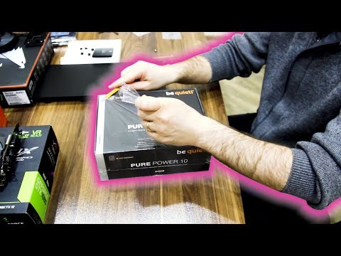 Be quiet! Pure Power 10 600W 80 Plus Silver ATX | Unboxing | Asmr Sound