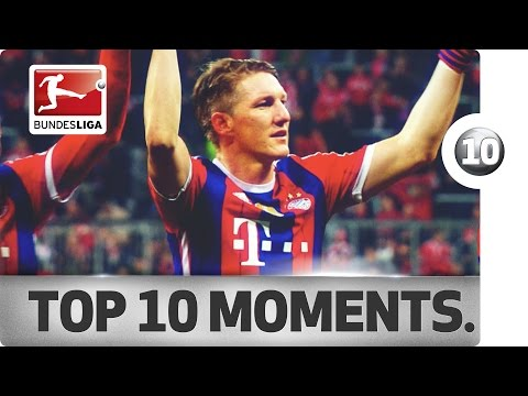 Top 10 Moments of Bastian Schweinsteiger's Bundesliga Career