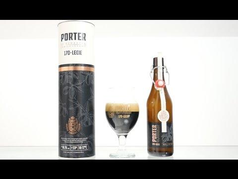 Porter ze Szwestką Jubileuszowy na 170 lat Browaru Zamkowego w Cieszynie