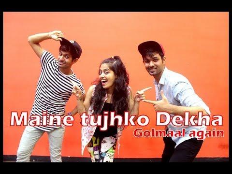 Maine Tujhko Dekha dance choreography...