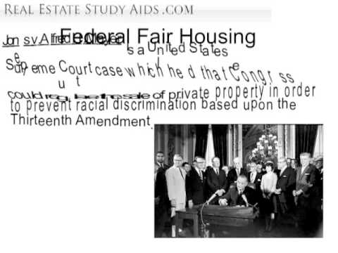 Federal law - Real Estate Exam