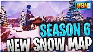 *FORTNITE* Winter Mode (Christmas Update) Snow falling