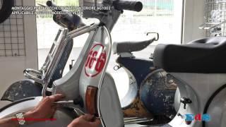 Montaggio portapacchi Vespa - emporiodelloscooter.com