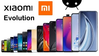 Evolution of Xiaomi Mi Series