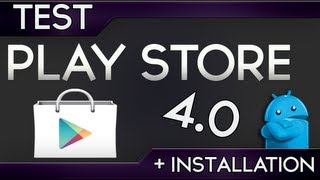 comment mettre a jour play store