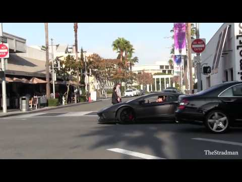 Have $5,500 to blow  You can rent and abuse this Matte Black Lamborghini Aventador for the day!