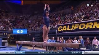 Highlights - Gymnastics at Cal, 2-10-18