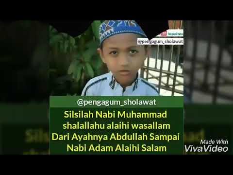 Adik ini hafal silsilah Nabi Muhammad SAW sampe Nabi Adam As.