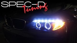 SPECDTUNING INSTALLATION VIDEO: 2008-2011 BMW E82 1 SERIES PROJECTOR HEADLIGHTS