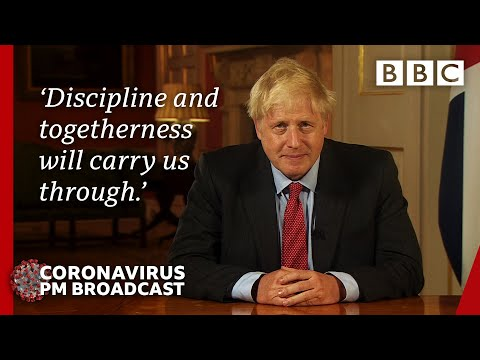 Boris Johnson speaks to the country as Covid rules tighten 🔴 @BBC News LIVE - BBC