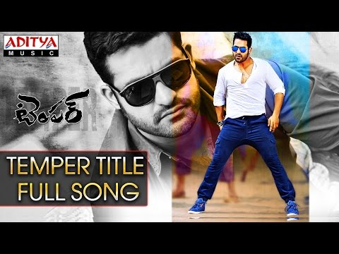 Temper Title Full Song ll Temper Movie ll Jr, Kajal Agarwal