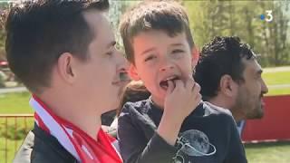 Avant Toulouse, le LOSC régale ses supporters à l'entraînement
