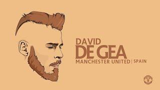 De Gea Vector Art   Manchester United   Speed Art   GraphicsD   Football