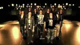 DBSK 동방신기 - Rising Sun 순수 MV [eng + rom + hangul + karaoke sub]