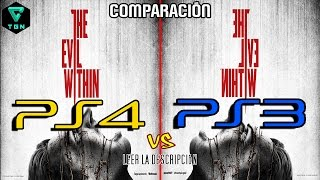 The Evil Within PS4 vs PS3 Comparación Grafica