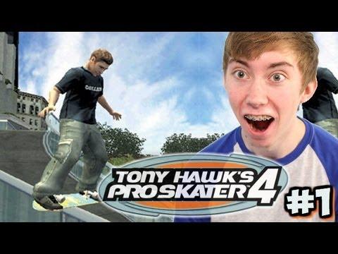 Tony Hawk's Pro Skater 4 - COLLEGE - Part 1