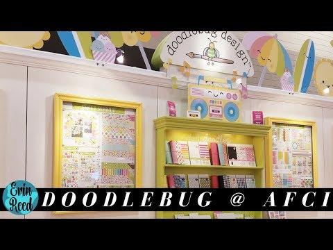 Doodlebug Design Booth Tour @ Creativation 2018