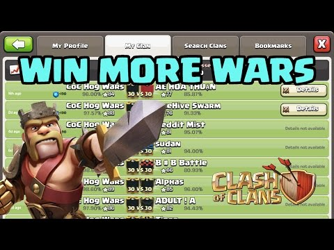 IT'S SIMPLE: How to WIN MORE WARS - GUARANTEED | Clash of Clans War Strategy