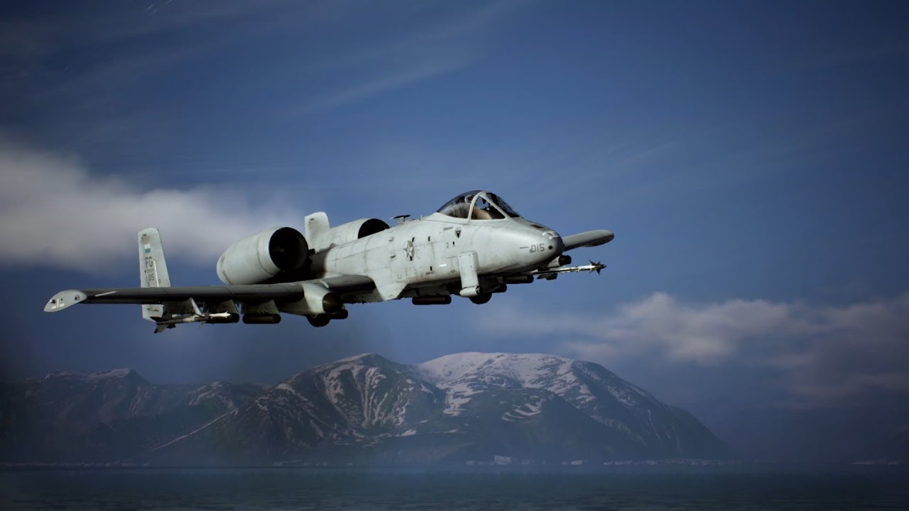 ACE COMBAT 7: SKIES UNKNOWN - Aircraft Profile: A-10C   PS4, PSVR, X1, PC