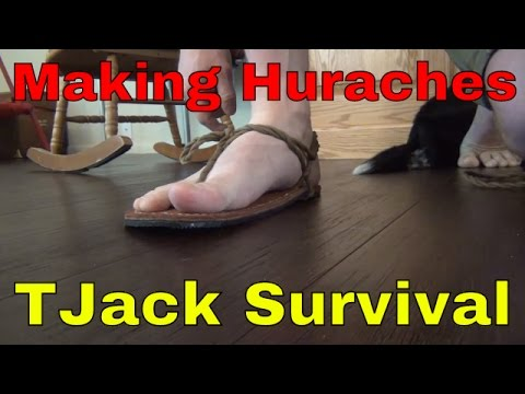 How to make Huaraches
