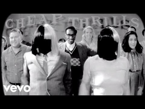 Sia - Cheap Thrills (Lyric Video) ft. Sean...
