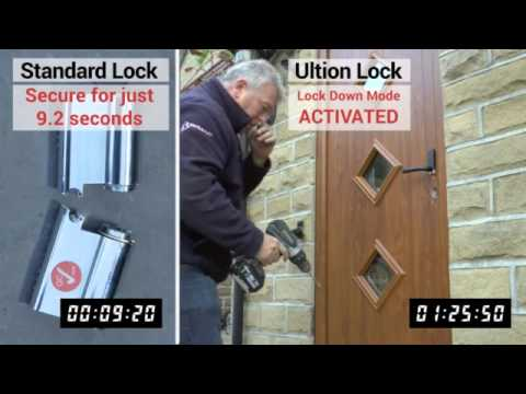 How secure is your door? Lock snapping in 9 seconds