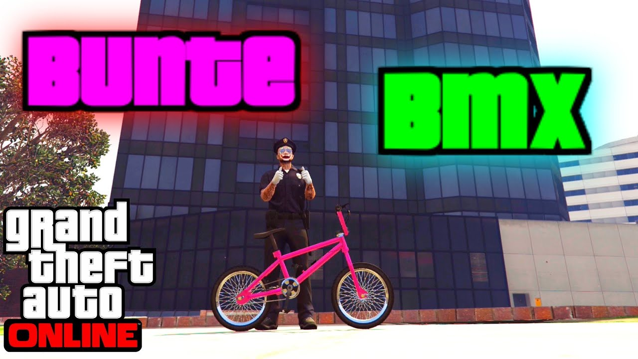 GTA 5 Colored BMX [BMX Paintjob] by HERZ Movie [Patched] - YouTube