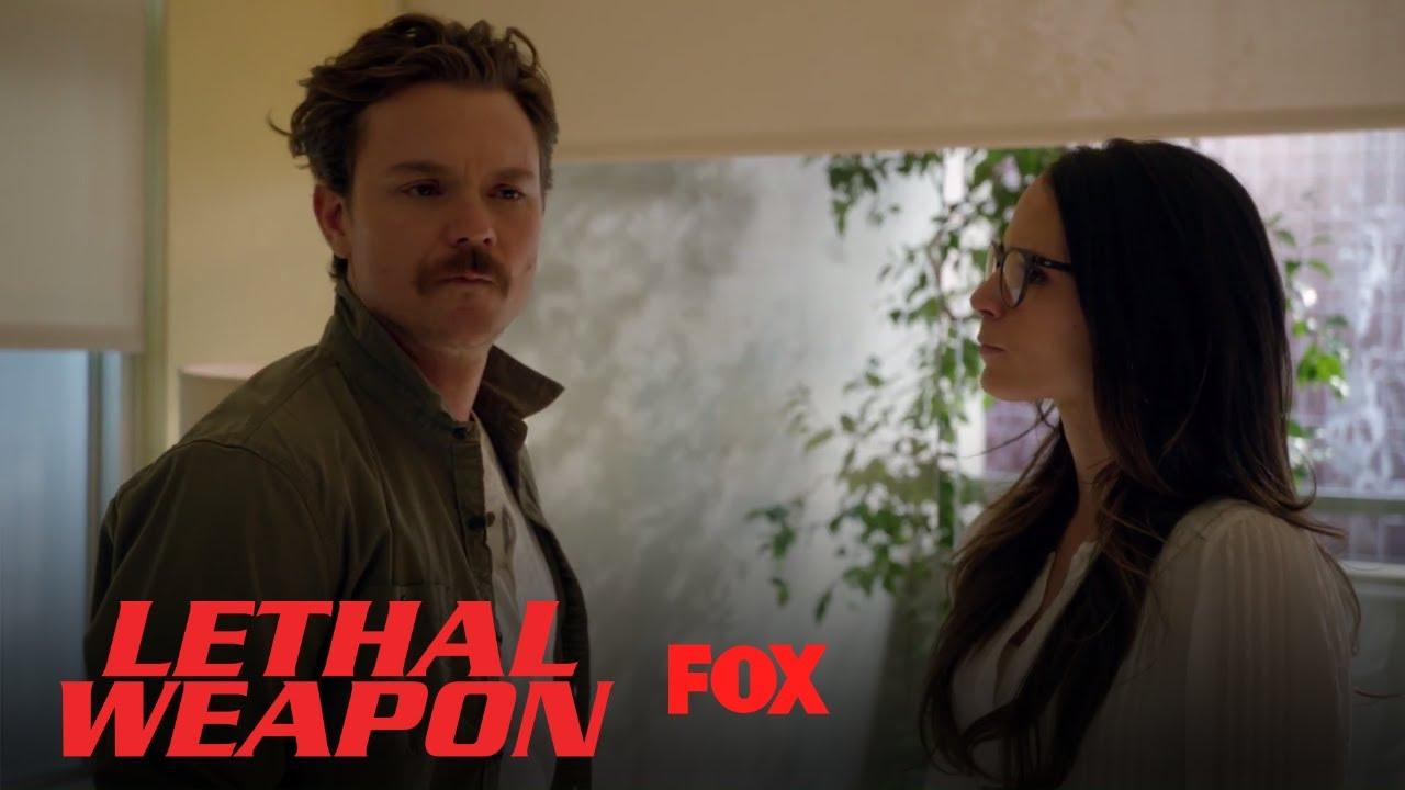 Riggs Asks Maureen To Slap Him | Season 2 Ep. 15 | LETHAL WEAPON