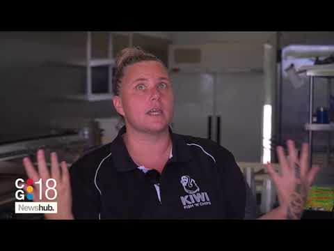 Kiwi Fish And Chip Shop Battered By Blaze On Gold Coast | Newshub