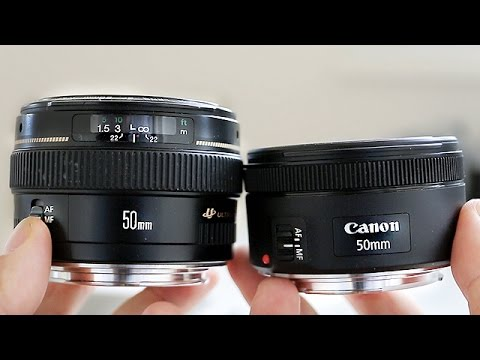 Canon 50mm 1.4 vs Canon 50mm 1.8 STM - In...