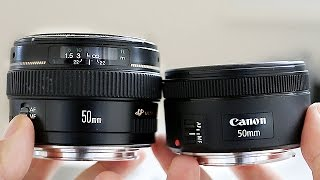 Canon 50mm 1.4 vs Canon 50mm 1.8 STM - In Depth Comparison Review
