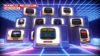 Namco Museum Archives - Launch Trailer - PS4/XB1/PC/SWITCH