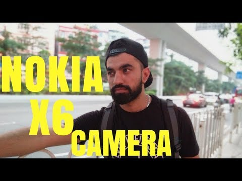 Nokia X6 Camera Review in Details Hindi India 4K Video