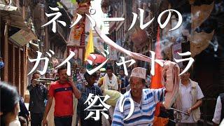 祭りの季節が始まるネパール ネワール族のガイジャトラ祭りは盛大だった【文化】Newar Gaijatra Festival in Nepal