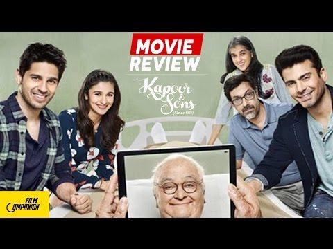 Kapoor & Sons   Movie Review   Anupama Chopra  ...