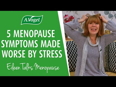 5 menopause symptoms made worse by stress