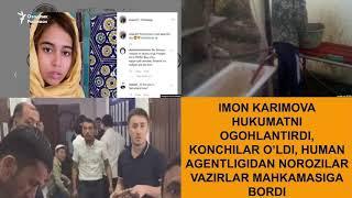 Имон Каримова ҳукуматни огоҳлантирди¸ Кончилар ўлди
