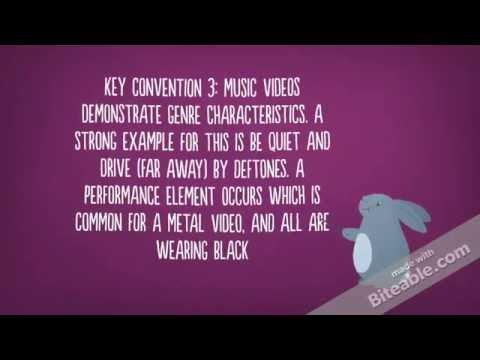 Goodwin's theory: music video.