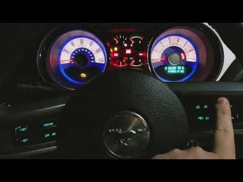 2010 Mustang premium night features