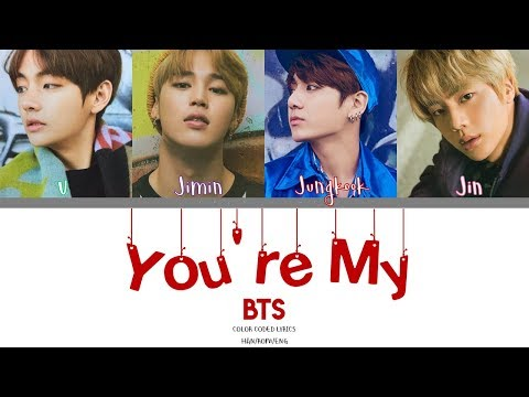 BTS 방탄소년단  Youre My Home Color Coded HanRomEng Lyrics